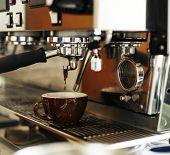 Beverage Barista Steam Coffee Chill Awakening Concept poster