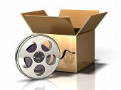 Box Icon: Film And Movies