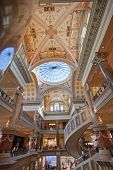 Las Vegas, Nevada - April 12, 2011: Entry Of The Forum Shops At Caesars  In Las Vegas On April 12, 2