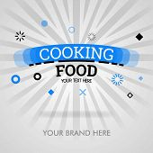 Cooking Food Recipes. American Food Recipes. Cooking Food Tips. Can Be For Promotion, Advertising, A poster