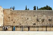 image of tora  - The Jerusalem wailing wall - JPG