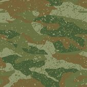 foto of mud  - Green and brown mud camouflage seamless pattern - JPG