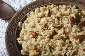 image of halwa  - Close up view of halwa - JPG