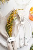 Spring Festive Dining Table Setting