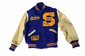 stock photo of jock  - Lettermans Jacket - JPG