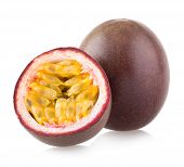 stock photo of passion fruit  - passion fruit - JPG