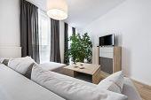 stock photo of scandinavian  - Modern interior design - JPG