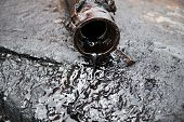 stock photo of crude  - this is crude oil from oil well - JPG