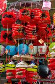 stock photo of mid autumn  - Lanterns for sale during Mid - JPG