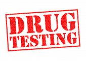 foto of methadone  - DRUG TESTING red Rubber Stamp over a white background - JPG