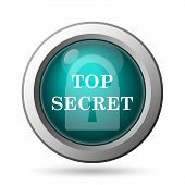 picture of top-secret  - Top secret icon - JPG