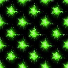 stock photo of plasmatic  - Green abstract seamless plasmatic pattern  - JPG