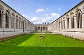 pic of cemetery  - Architecture of Monumental Cemetery in Pisa - JPG