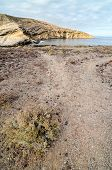 pic of volcanic  - Volcanic Rock Basaltic Formation in Canary Islands - JPG