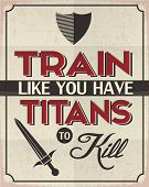 pic of kill  - Retro Style Poster with a Motivation Idea - JPG