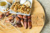 picture of brazilian food  - Delicious prepared for the famous Brazilian Festa Junina  - JPG