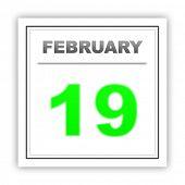 foto of february  - February 19 - JPG