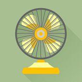 picture of ventilator  - Fan or ventilator icon - JPG