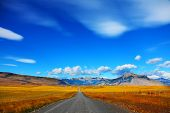stock photo of steppes  - Steppes of Patagonia - JPG