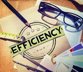 picture of efficiencies  - Efficiency Improvement Mission Motivation Development Concept - JPG