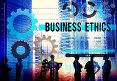 stock photo of honesty  - Business Ethnics Awareness Honesty Legal Concept - JPG