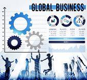 picture of enterprise  - Global Business International Growth Enterprise Concept - JPG