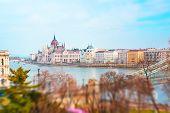 image of hungarian  - View of Hungarian Parliament - JPG