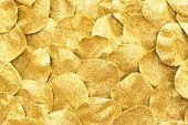 image of gold glitter  - golden glitter sparkles for background - JPG