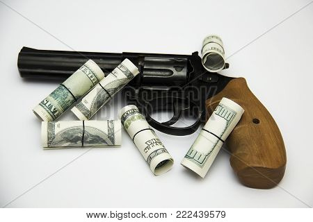 A huge revolver