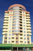 picture of vinnitsa  - A modern apartments building viewed from an vinnitsa - JPG
