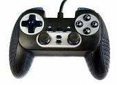picture of video game  - Video game controller isolated on a white background - JPG