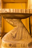 Shou Sugi Ban Wooden Furniture poster