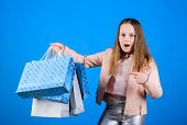 Shopping Day Happiness. Buy Clothes. Fashionista Addicted Buyer. Fashion Boutique Kids. Birthday Gir poster