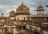 Architectural Gem Of India Or Orchha The Lost City Of India poster