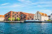Kroyers Plads Buildings In The Christianshavn Neighbourhood Of Central Copenhagen, Denmark. View Fro poster