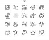 Digital Crafts Well-crafted Pixel Perfect Vector Thin Line Icons 30 2x Grid For Web Graphics And App poster