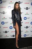 LOS ANGELES - FEB 10:  Alessandra Ambrosio arrives at the Warner Music Group post Grammy party at th