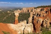 foto of thors hammer  - Thors Hammer in Bryce Canyon national park USA - JPG