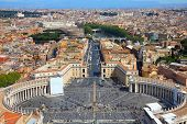 stock photo of squares  - Rome Italy - JPG
