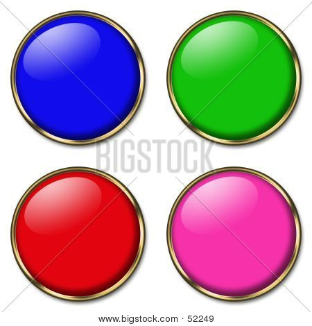 4 Web Buttons poster