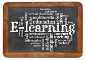 foto of slating  - online education concept  - JPG