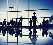 stock photo of board-walk  - Airport Lounge - JPG