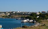 "foto of sevastopol  - ""Karantinnaya"" Bay Sevastopol Crimea Ukraine - part of the area of Sevastopol Bay located immediately to the west of the southern entrance breakwater. - JPG"