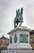pic of copenhagen  - Statue of Frederick V by Jacques Francois Joseph Saly - JPG