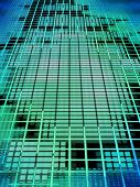Abstract Matrix Background.