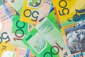 stock photo of currency  - Australian Currency - JPG