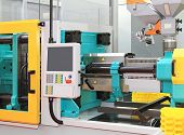 picture of production  - Injection moulding machine for plastic parts production - JPG