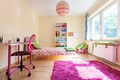 picture of girl toy  - Interior of a modern room for a girl - JPG