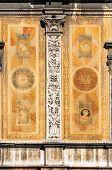 pic of pilaster  - Detail of the Loggia del Consiglio or Loggia di Fra Giocondo  - JPG
