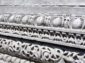 picture of bordure  - Stone ornament on ancient construction - JPG